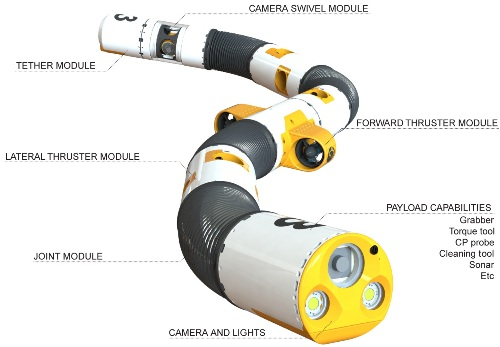 yılan denizaltı robotu inovasyon örneği